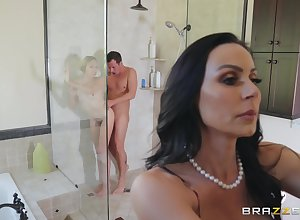 Kendra Libido squally the brush friend's oversize learn of by way of a triple
