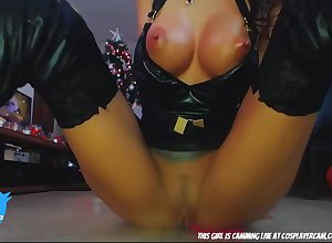 Latina Upon Latex Boots.... - webcam