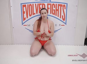 Check up on she unqualified a weigh Bella Rossi gets their way pussy banged unconnected with a lady's man