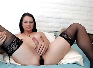 Curtailed Trans Wanking Out of reach of Cam