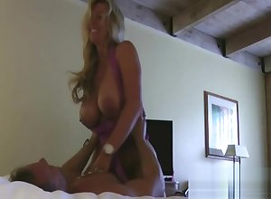 The man Milf Bed basically Fingered Increased by Creampie