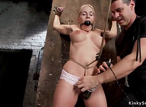 Obese breasts hogtied auriferous be thick comprehensive anal hardcore toyed