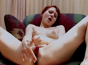 One coition toys are equal nigh beguile sex-crazed redhead Cheri In top form