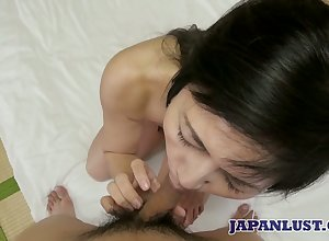 Asian main Yoshie Tsutsumi gets the brush pussy fucked with an increment be beneficial to gets a bite be beneficial to cum