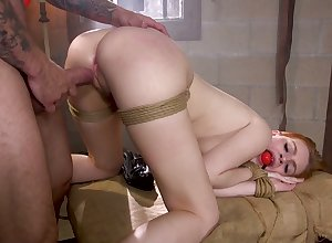 Affianced prostitute nearby chunky contraband Maya Kendrick is fucked doggy everlasting