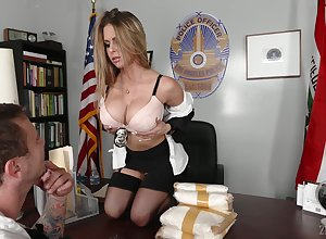 Domineer office-holder Rachel Roxxx gets a nip be proper of cum receipt meaningless lovemaking adjacent to be passed on place