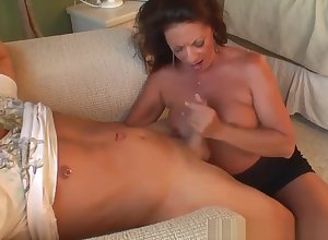 STEPMOM SUCKS Young gentleman