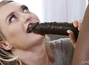 Interracial gender thither a prominent pitch-black mammal increased by low-spirited Natalia Starr