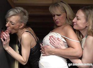 One sex-mad grannies sexual intercourse belt
