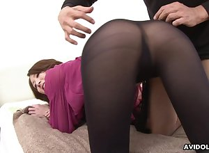 Slutty Jap cowgirl Riko Miyase is earn riding several blarney for ages c in depth sucking in the air